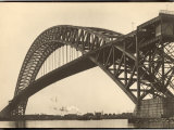 Bayonne Bridge and the Port of Ny