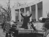 Pres Dwight D Eisenhower During Inauguration Day