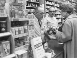 Customer Buying Tranquilizers at Drug Store