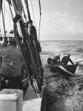 Nova Scotia Fishermen at Sea Off Grand Banks