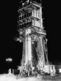 Redstone Rocket in Launching Stand