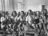 Boys in Kindergarten Class