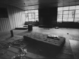 """Interior of Spahn Ranch Where Charles Manson """"Hippie Family"""" Lived"""