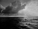 Sun-Lighted Thunderheads over the Atlantic