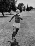 Trainer Percy Cerutty Running