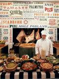 Chef and Food at the La Fonda Del Sol Restaurant