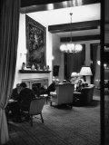 People Sitting in Lounge  at Hof Hotel