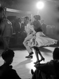 Professional Dancers Performing the Mambo