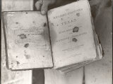 """View Showing """"Judge"""" Roy Bean's Law Books"""