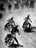 Riders Enjoying Motorcycle Racing