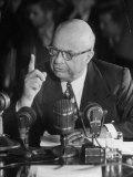 Henry J Kaiser Testifying at the Howard Hughes Trial