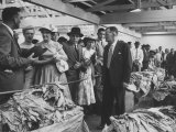 View of a Tobacco Auction