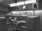 Members of Voice of America Hard Away at Working in a Computer Room
