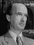 Portrait of Industrialist Alfred Krupp While under House Arrest for Alleged War Crimes