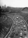 Arroyo Seco Parkway Which Shoots Traffic from Downtown LA Out to Pasadena