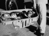 """Ham"" Mugging after Mercury Space Flight"