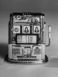Slot Machine known as a One-Armed Bandit