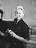 "Actress Doris Day During Rehearsals for the Film ""Calamity Jane"""