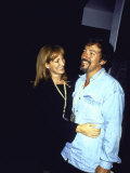 Musician Bruce Springsteen and Wife  Singer Patti Scialfa