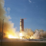 Apollo 11 Taking Off Cape Canaveral  Florida