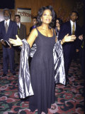 """Television Personality Oprah Winfrey at Film Premiere of Her """"Beloved"""""""