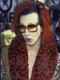 Singer Marilyn Manson at Mtv Video Music Awards