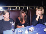 Models Kate Moss  Naomi Campbell and Linda Evangelista