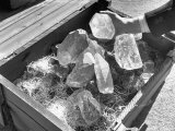 Crated Quartz Crystals That are Part of the US Strategic Materials Stockpile