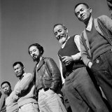 Men at Japanese Internment Camp  Tule Lake  Ca