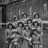 The Ten Daughters Modelling their New Easter Wear