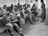 Small and Over-Crowded African-American School Is Really a One Room Baptist Church