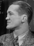 Profile Portrait of Welter Weight Champion Ferdinand Zivic Proudly Displaying His Crooked Nose