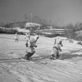 Amer 10th Mountain Div Army Ski Patrol  on the Itallian Front in the Appennine Mountains
