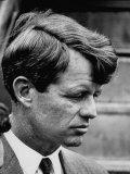 Sen Robert F Kennedy Arriving at La Guardia Airport