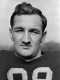 Headshot of University of Michigan Fottball Player  No98  Tom Harmon