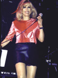 Singer Nancy Sinatra Performing