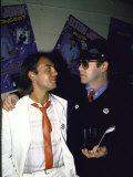 Songwriters Bernie Taupin and Elton John