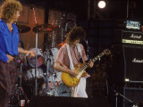 Subject: Jimmy Page and Robert Plant Formerly of Led Zeppelin Performing at Live Aid