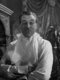 """Actor Cesar Romero in Scene from the Movie """"Love That Brute"""""""