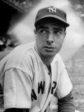 Baseball Player Joe Di Maggio in His New York Yankee Uniform