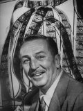 Portrait of Walt Disney  of Walt Disney Studios