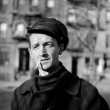 Folk Singer Woody Guthrie in Nyc