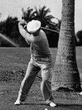 Golfer Ben Hogan  Demonstrating His Golf Drive