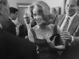 Young Actress Jane Fonda at a Cocktail Party Given for Her