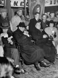 Premier Eamon De Valera at a Campagin Meeting in Athlone