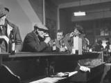 Author William T Bushman Sitting at a Bar
