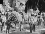 """Actress Lucille Ball Performing in a Scene from the Movie """"The Ziegfeld Follies"""""""
