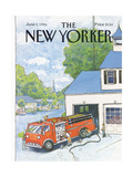 The New Yorker Cover - June 2  1986