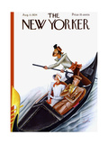 The New Yorker Cover - August 11  1934