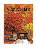 The New Yorker Cover - October 19  1981
